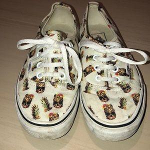 da3a62875f Vans Shoes - Pineapple skull head Vans